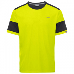 Camiseta Head Volley Amarillo