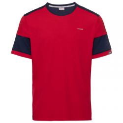 Camiseta Head Volley Rojo