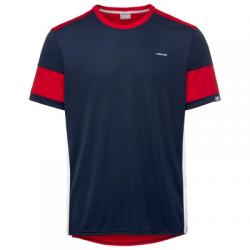 Camiseta Head Volley Marino